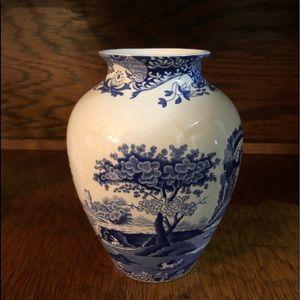 Spode Delft planter vase 8x 5.5